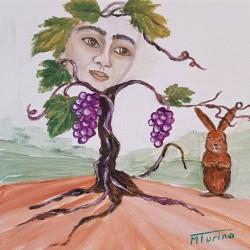Monique Turino - la voix des contes - Le cep de vigne