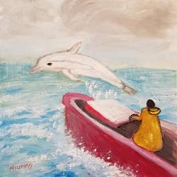 Monique Turino - la voix des contes - Le pêcheur et le dauphin